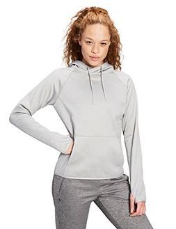 Core 10 Women's Chill Out Fleece Hoodie , Light Grey Heather