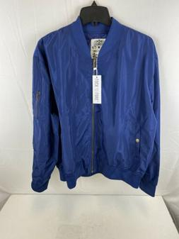 Lock and Love Women's Classic Lightweight Jacket, navy, XXL