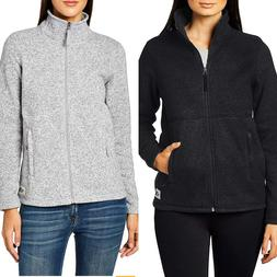 The North Face Women's Crescent Full Zip Up Jacket TNF Black