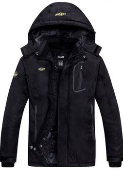 Wantdo Women's Fleece Waterproof Windproof Mountain Ski Jack