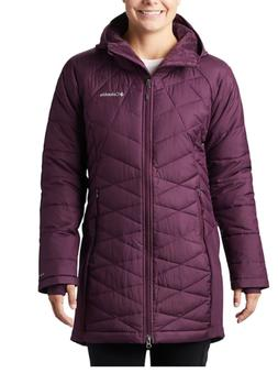 Columbia Women's Heavenly Long Hybrid Omni Heat Hooded Winte