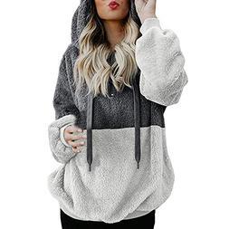 Women's Hoodies, FORUU Hooded Sweatshirt Winter Warm Zipper