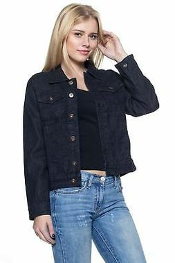 Women`s Juniors Premium Denim Jackets Long Sleeve Jean Coats