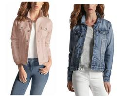 Buffalo Women's Knit Soft Denim Jacket