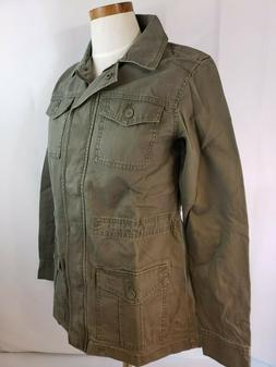 A New Day Women's Military Jacket - Olive Color