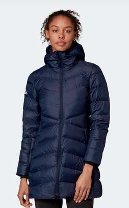 Adidas Women's NUVIC Down Jacket  Climawarm Down Coat in LEG