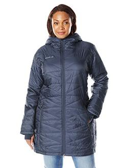 Columbia Women's Plus Mighty Lite Hooded Jacket, Nocturnal,