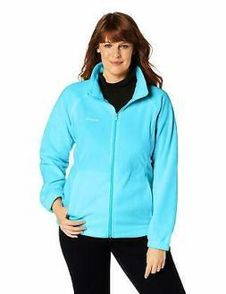 Columbia Women's Plus-SZ Benton Springs Full-Zip Fleece Jack