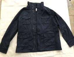 Amazon Essentials Women's Size Large Navy Blue Utility Jacke