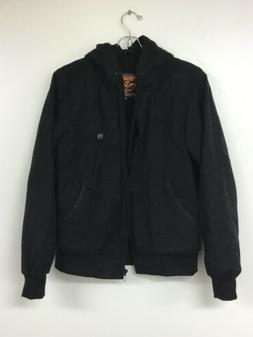 Milwaukee Leather Women's Zipper Front Heated Hoodie, Black,