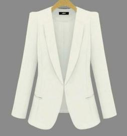 Yesereal- Womens Business Suits Spring Autumn Blazers Jacket