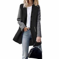 Goddessvan Womens Casual Long Sleeve Cardigan Jacket Long Co
