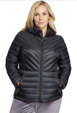 32 Degrees Womens Ultra-Light Down Chevron Packable Jacket,