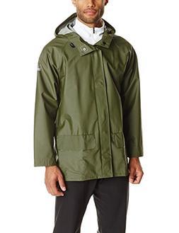 Helly Hansen Workwear Men's Mandal Rain Jacket, Army Green,