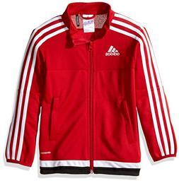 adidas Youth Soccer Tiro 15 Training Jacket, Power Red , Sma