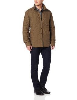Victorinox Men's Zermatt Utility Shirt Jacket, Moss Green, L
