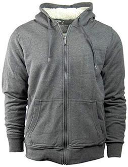 American Legend Men's Zip Up Hoodie/Hooded Jacket with Fleec