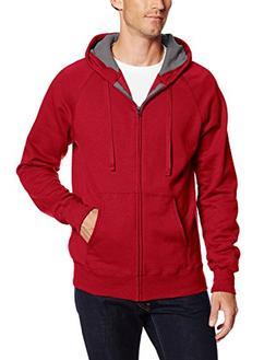 Hanes Men's Full Zip Nano Premium Lightweight Fleece Hoodie,
