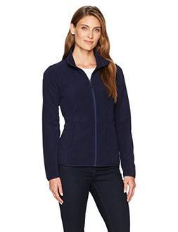 Amazon Essentials Womens Full-Zip Polar Fleece Jacket, Night